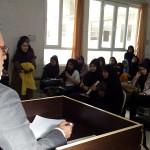 دکتر سلیمی در دانشکده جوانرود